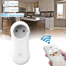 Wireless Remote Control Timer Timing Switch WiFi Smart Power Socket Outlet Plug