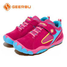 GEERBU Girls Sneakers Rose color  Kids Children Walking Shoes Breathable Teenagers Athletic Shoes