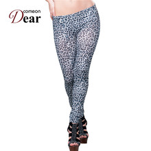 TB2145Ankle length middle waist pant leggings brand new leggings 2017 spring new recommend fashion high quality leopard leggings