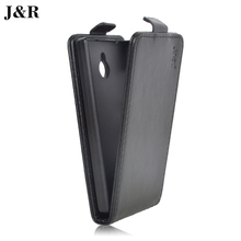 J&R Brand For Nokia X2 X2 Dual SIM RM-1013 Case For Nokia X2DS Case Flip PU Leather Cover Vertical Magnetic Phone Bag 20 Colors