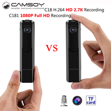 Mini Camera 2.7K 30fps Mini DV 1080P Full HD 60fps Pen Camera With Metal Housing Voice Recorder Anti-Shake Mini Kamera Go Pro