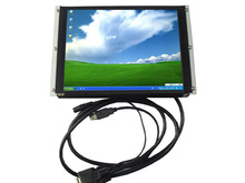 10.4 inch OPEN FRAME USB touch screen lcd monitor 450CD/M2,800*600,VGA INPUT,USB/RS232