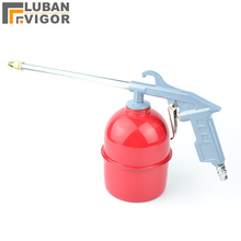 Pneumatic cleaning gun, engine cleaning gun with Kettle, blowing dust gun, you can spray, injection, air blowing gun(China)