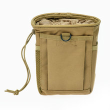 Military Tactical Dump Pouch Airsoft Wargame Hunting Magazine AMMO Recovery Molle bag