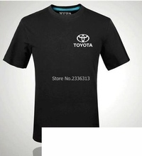 Summer Toyota car T-shirt standard 4S shop men and women employees work clothes car repair car clothing couple T shirt