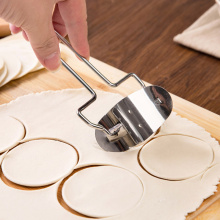 Stainless Steel Dough Press dumpling making machine Pie Mould Circle dumpling maker Mold cutter knife Pastry Kitchen Accessories(China)