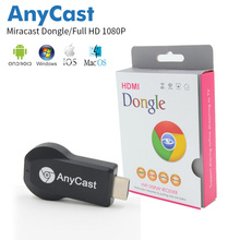 10pcs Anycast M2 Wifi Display Receiver Dongle TV Stick Miracast Screen DLNA Airplay Android Systerm Mirasreen HDMI Full HD 1080P(China)