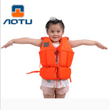Professional Water Sports Life Vest Kids Survival Life Jackets For Children Boating Surfing Swimming Drifting With Whistle H30(China)