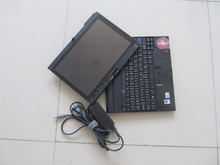 car diagnostic laptop For lenovo thinkpad x200t touch screen used computer best price with battery without hdd(China)