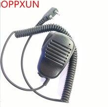 100% Original BaoFeng Handheld Speaker Mic. Microphone For Two Way Radio UV 5R UV-B5 BF-888S TG-UV2 KG-UVD1P PX-888K TK-3107