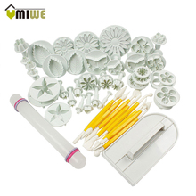 All Kind Of Different Dessert Decorators 46 in 1 Kitchen Baking Molding Kit Sugarcraft Making Mould for Cookie Cake Decoration