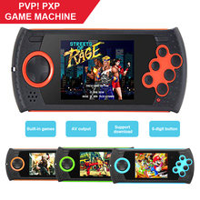 Portable 3 inch 16 Bit Handheld Game Console Players Build-in 100 Classic Games PVP PXP MP3 MP4 Game Player Gift For Kids