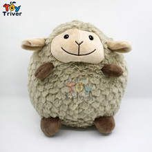 22cm Cartoon Cute Grey Sheep Plush Toys Stuffed animal Christmas Birthday Gift Present For Baby Kids Children Friend Triver