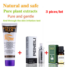 Buy 3pcs Strong Man Developpe Sex Herbal Penis Enlargement Cream,Peineili Male Delay Spray Lasting Long, MK Penis Enlargement Oils