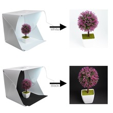 30 cm/11.8 in Foldable Lightbox Portable Light Room Photo Studio Photography Backdrop Cube Box Lighting Camera Photo Background