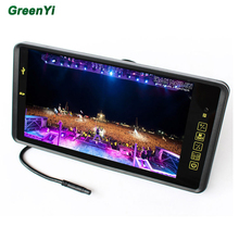 HD 800 x 480 Super Thin 9 Inch Car Monitor TFT Car lcd monitor Color LCD 2 Channels Video Input Car Rear View Monitor