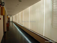 motorized blinds,2.0m wide, 0.5-1.8m hight, sunscreen fabric