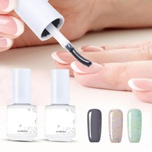 Nail Art Design Make Up Manicure Foundation Basecoat Nail Top coat Set UV LED Soak off Longlasting Gel Nail Polishes Art Salon(China)