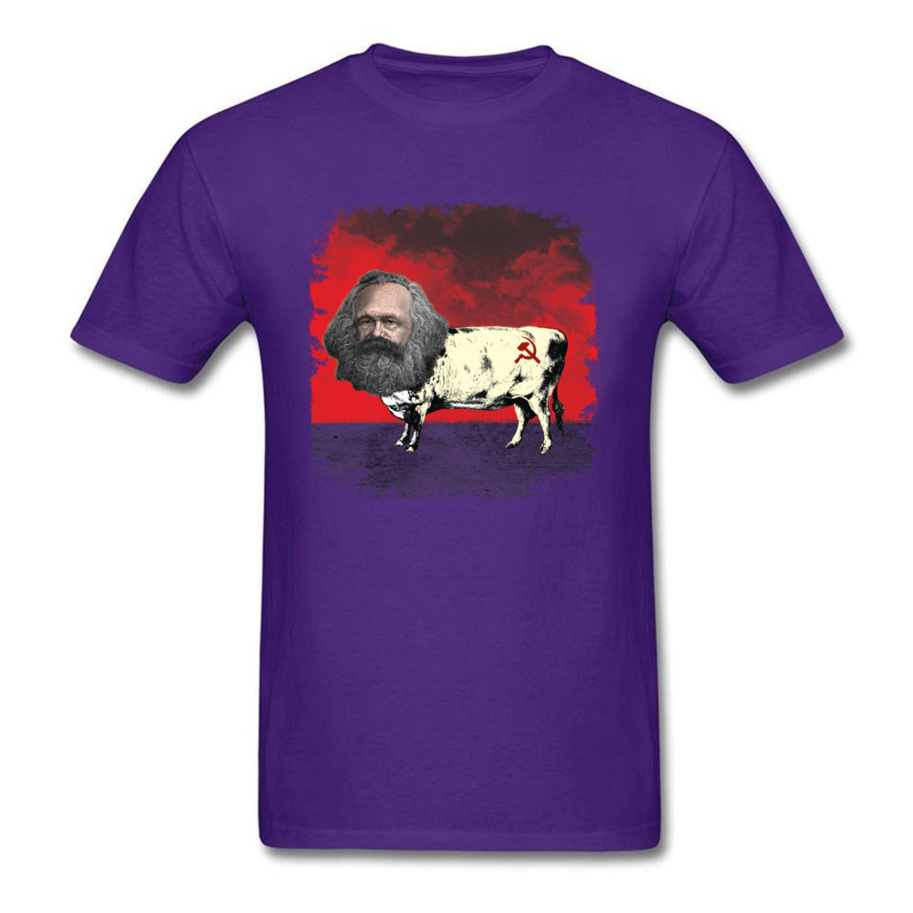 COW MARX - FATHER OF COWMUNISM_purple