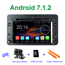 2GB RAM Android 7.1.2 Car DVD Player GPS for Alfa Romeo 159 Sportwagon Spider Brera with BT Wifi Radio(China)
