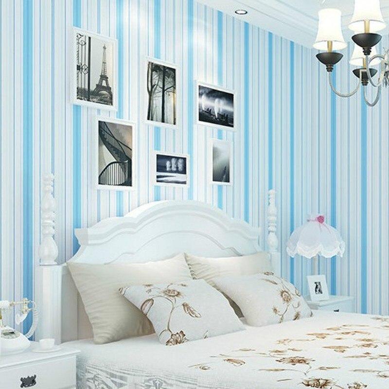 beibehang wallpaper childrens bedroom wallpaper simple decoration Mediterranean style papel de parede  photo wallpaper<br>