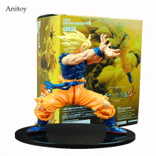 Anime Dragon Ball Z Son Goku Super Saiyan PVC Action Figure Collectible Model Toy 17CM KT4200(China)