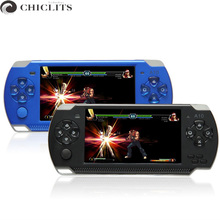 Console Game 4.3 Video Game Handheld Game Console Real 8GB Portable MP5 Game Player Classic Tetris Camera Recorder FM Radio