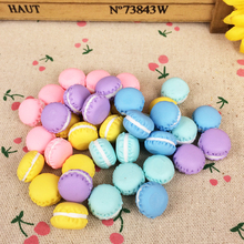 10 Pieces Clay Miniature Food Artificial Fake Cake DIY Embellishment Accessories Scrapbooking Decoration Craft Making:15mm(China)