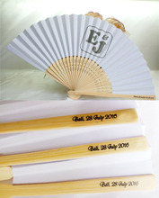 [I AM YOUR FANS] Free Shipping 100pcs/lot Personalized paper fans personalized paper fans