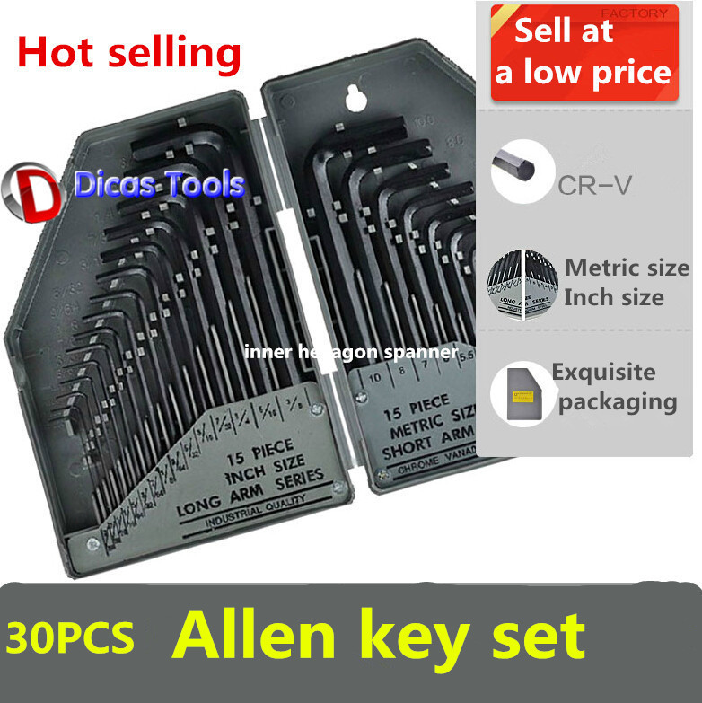 hot selling free shipping 30PCS  allen key set<br><br>Aliexpress