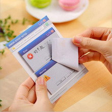 Novelty Computer Systems Dialog Prompt Memo pad stickers Post it Korean stationery office accessories school supplies escolar