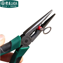 "LAOA 6"" Multi-function Long Nose Pliers High Hardness stainless Steel Needle nose Pliers"