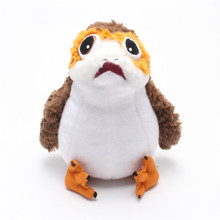 Limited Edition Last Jedi Plush Toys Porg Bird Peluche Doll Toy for kids children 15cm/26cm(China)