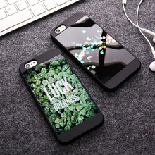 Cuptakes for iPhone 7 Cover Mirror IMD Soft Silicone Green Luck openness Cute INS Phone Cases for iPhone 5S SE6 6S 7 Plus Coque