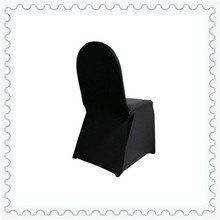 lycra Chair Covers for Wedding Easy To Use black spandex chair covers for banquet chairs(China)