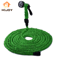 25/50/75/100/125/150/175/200FT Flexible Magic Irrigation Watering Garden Hose Expandable Soft Stretch Soaker Garden Water Hose