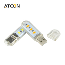 1Pcs New Mini USB LED Book lights Camping lamp For PC Laptops Computer Notebook Mobile Power Charger Reading Bulb Night light
