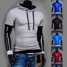 High Quality Hoody Basic Layered Active element men T shirts Slim fit casual O neck Short sleeve Tee shirts homme de marque(China)