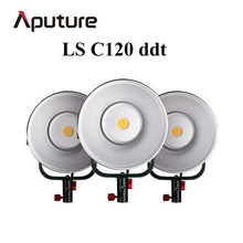 Aputure LS C120ddt COB led video light combination set professional studio light photo film shooting light with V-mount plate(China)