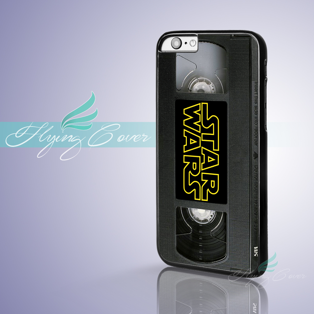 Coque Star Wars Video VHS Tape Capa Phone Cases for iPhone X 8 8Plus 7 6 6S 7 Plus 5S SE 5C 5 4S 4 Case for iPod Touch 6 5 Cover(China)