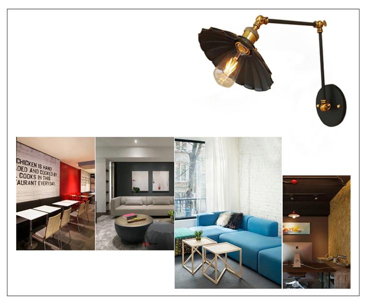 Acquista e vintage industriale applique loft creativo altalena