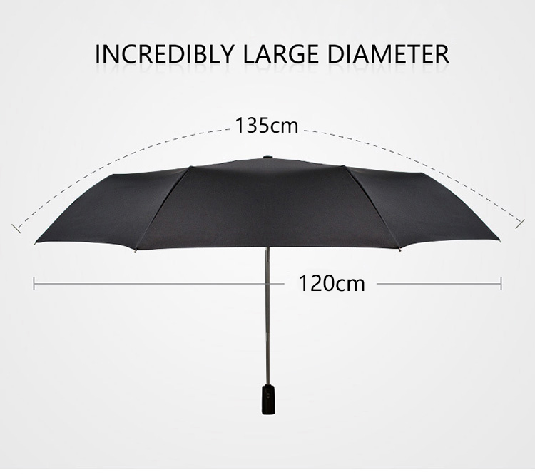 High Quality Brand Large Folding Umbrella Men Rain Woman Double Golf Business Gift Umbrella Automatic Windproof Umbrellas 4