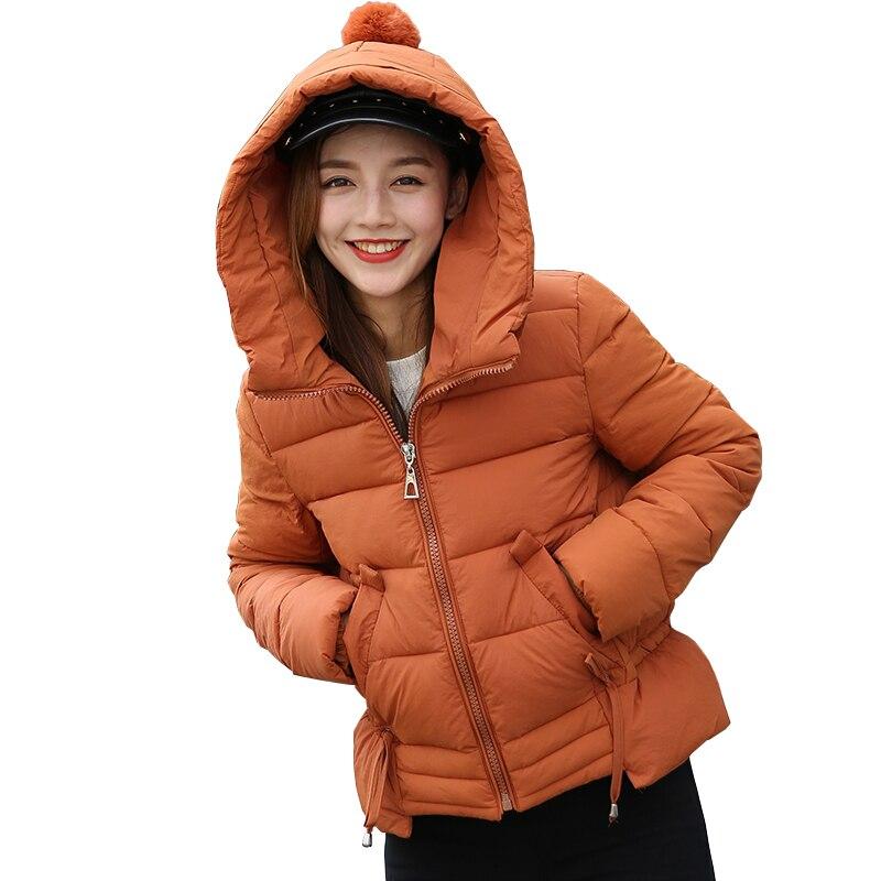 2017 New Winter Fashion College Style Hooded Down Jackets Drawstring Design Down Jacket All-match Down JacketsÎäåæäà è àêñåññóàðû<br><br>