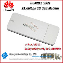 Wholesale Brand New Original Unlock HSPA+ 21.6Mbps HUAWEI E369 3G USB Modem And 3G USB Dongle(China)