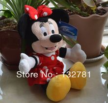 Red Minnie Plush Toy, 30cm Baby Gift, Kids Baby Toy Wholesale with Free Shipping