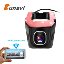 Eunavi Car DVR DVRs Registrator Dash Camera Cam Digital Video Recorder Camcorder 1080P Night Version 96655 IMX 322  WiFi