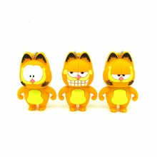 cartoon Garfield cat animal usb flash drive Pen drive personalized memory stick pendrive creative gift disk 4gb 8gb 16gb 32gb
