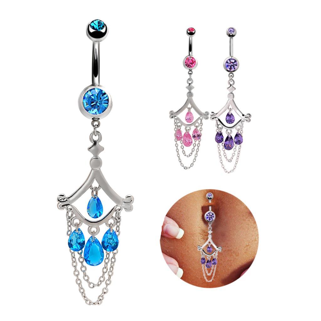 European  hot navel ring , body piercing nail Rhinestone zircon navel , belly dancing jewelry, navel jewelry exaggerated