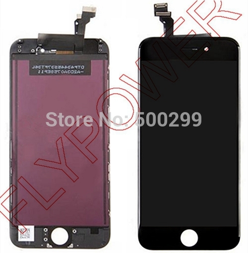 For iPhone 6 6g 4.7 LCD Screen Display With Black Digitizer touch Screen Assemblyby free shipping; 100% warranty; 5pc/lot<br><br>Aliexpress