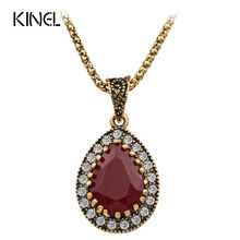2015 Vintage Necklace Women Fashion Movie Style Necklaces & Pendants Cheap Free Shipping(China)